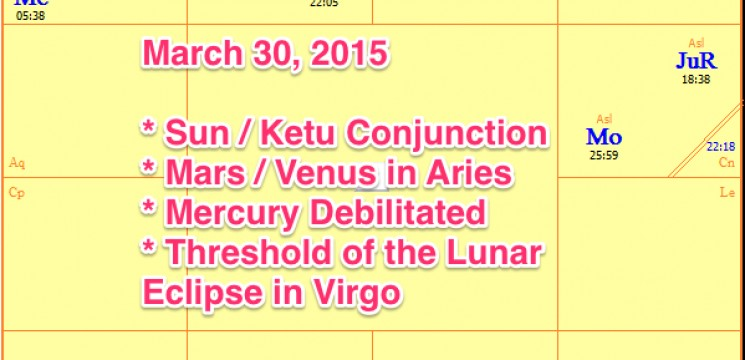 Sun Ketu – Venus in Aries – Mercury in Pisces
