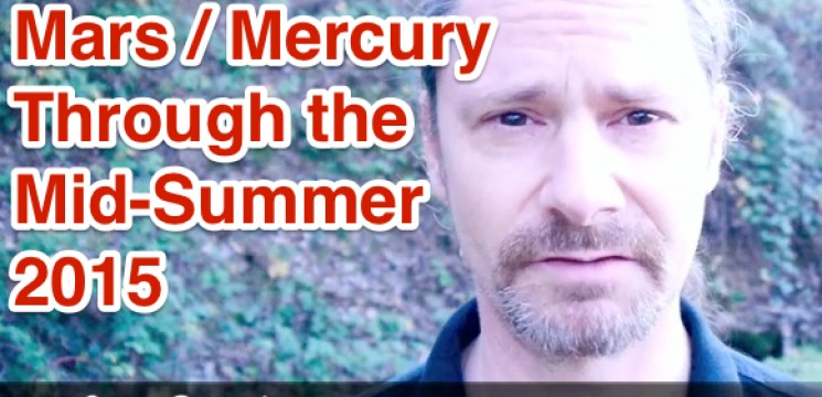 Mars and Mercury Continue the Dance Until July 2015