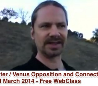 Venus and Jupiter Aspect – Connection Through March 2014