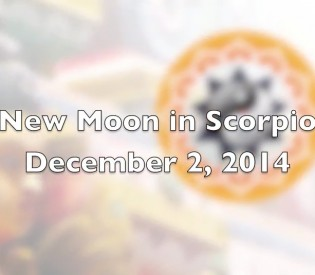 Vedic Astrology – New Moon in Scorpio – 2013