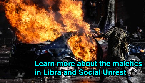 Mars in Libra – Social and Personal Unrest