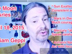 New moon in Aries – April 18, 2015