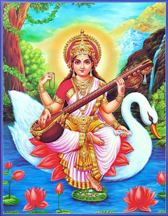 saraswati-sitting-on-her-vahana-swan-CJ24_l